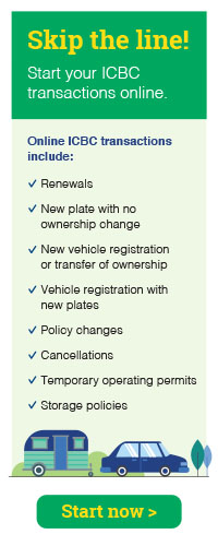 Online ICBC Renewal Form